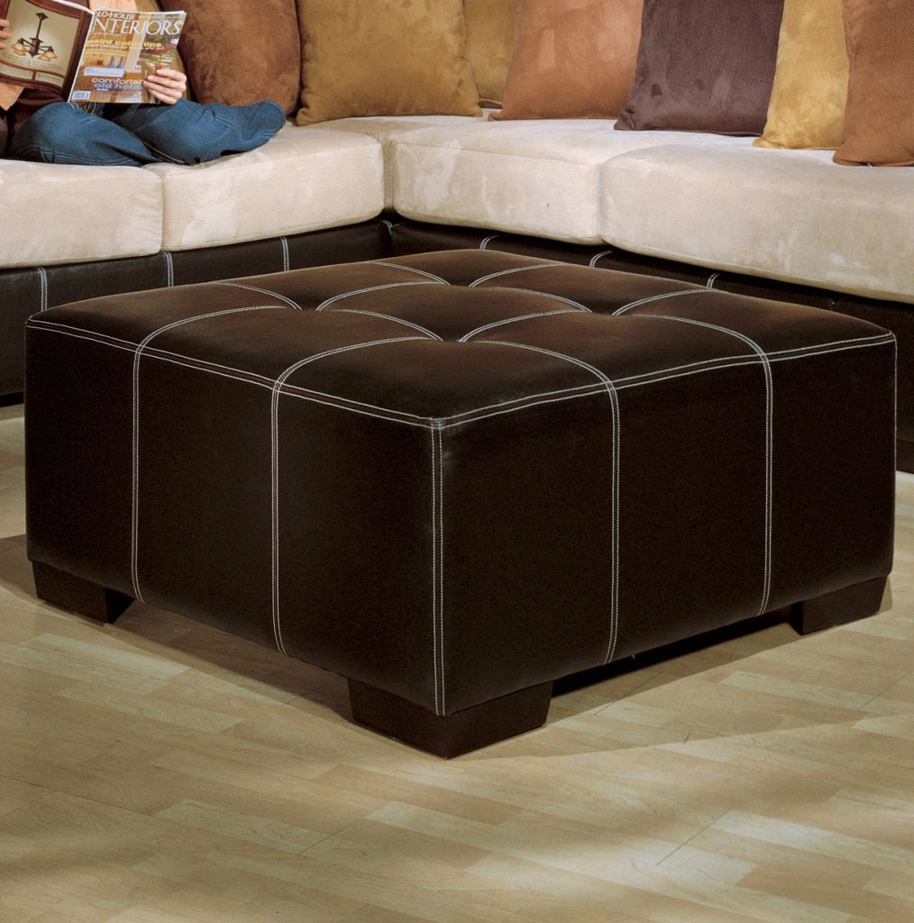 Fairmont Seating, Allegra Square Ottoman  Available at homegallerystores.com