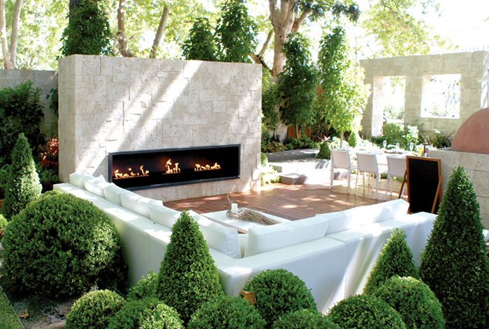 Fireplace lounge | Outdoor fireplace, Outdoor garden rooms ... on New Vision Outdoor Living id=17096