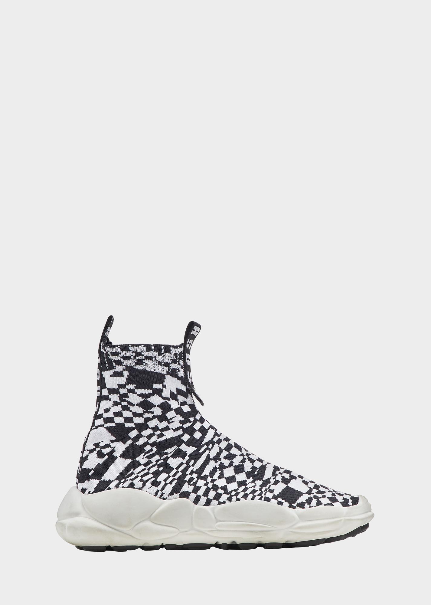 f6b6f9e797ae Versus Versace Anatomia Sock Sneakers - Checkerboard for Men ...