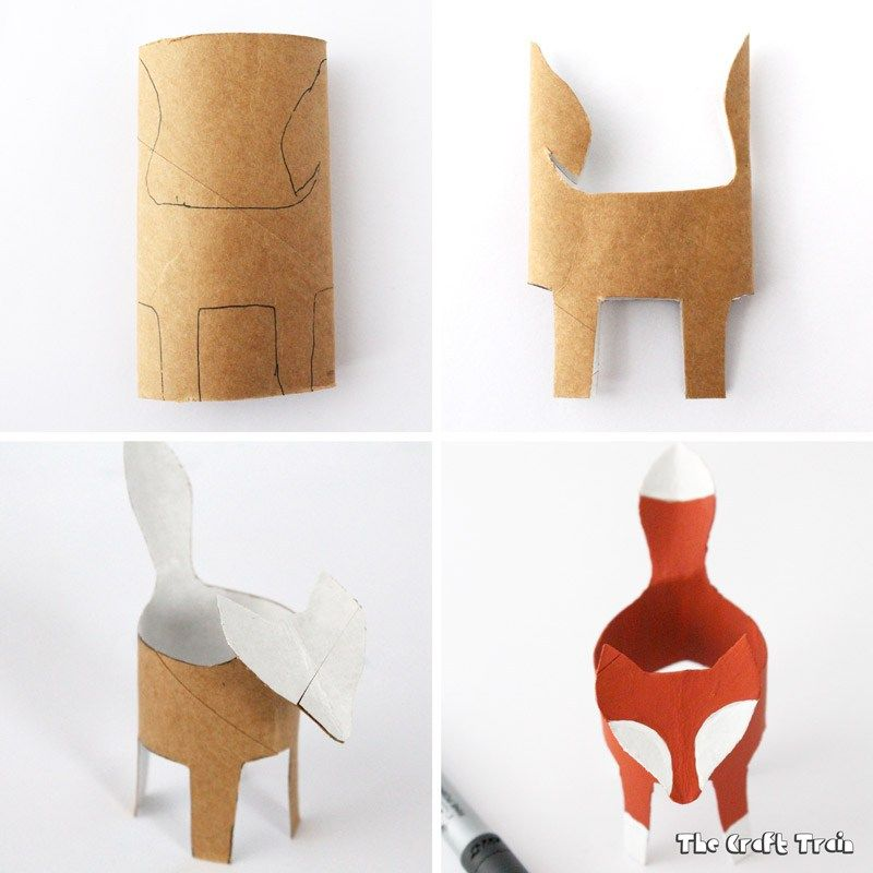 Photo of Cardboard Tube Fox | The Craft Train