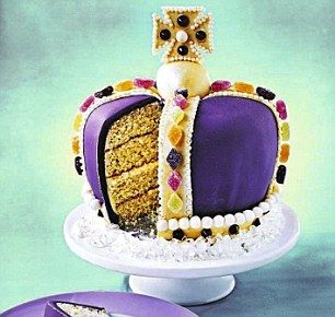 Royal Jubilee Crown Cake - OMG! I may have to make this for the street party!