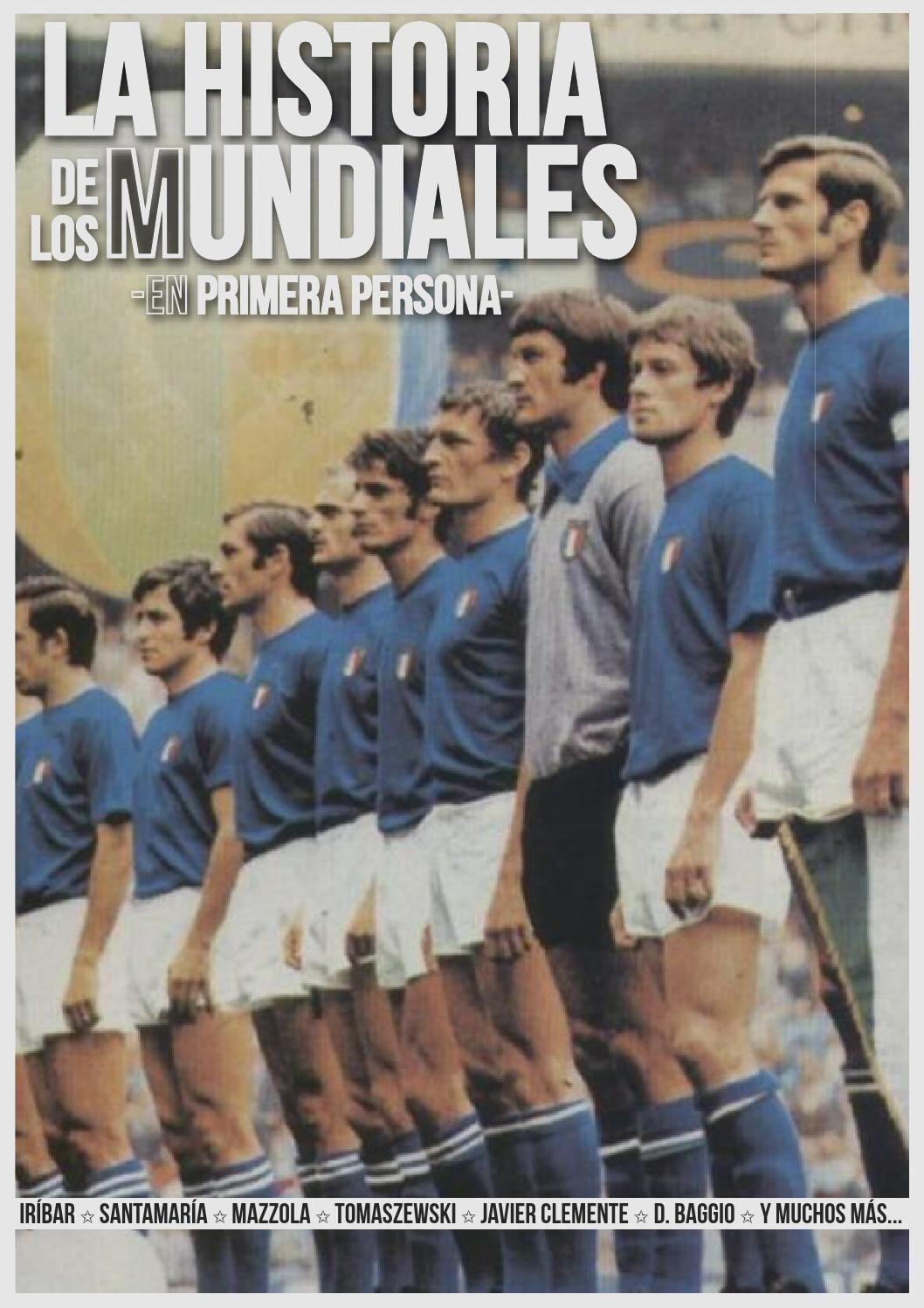Guía Histórica de los Mundiales Italy national football