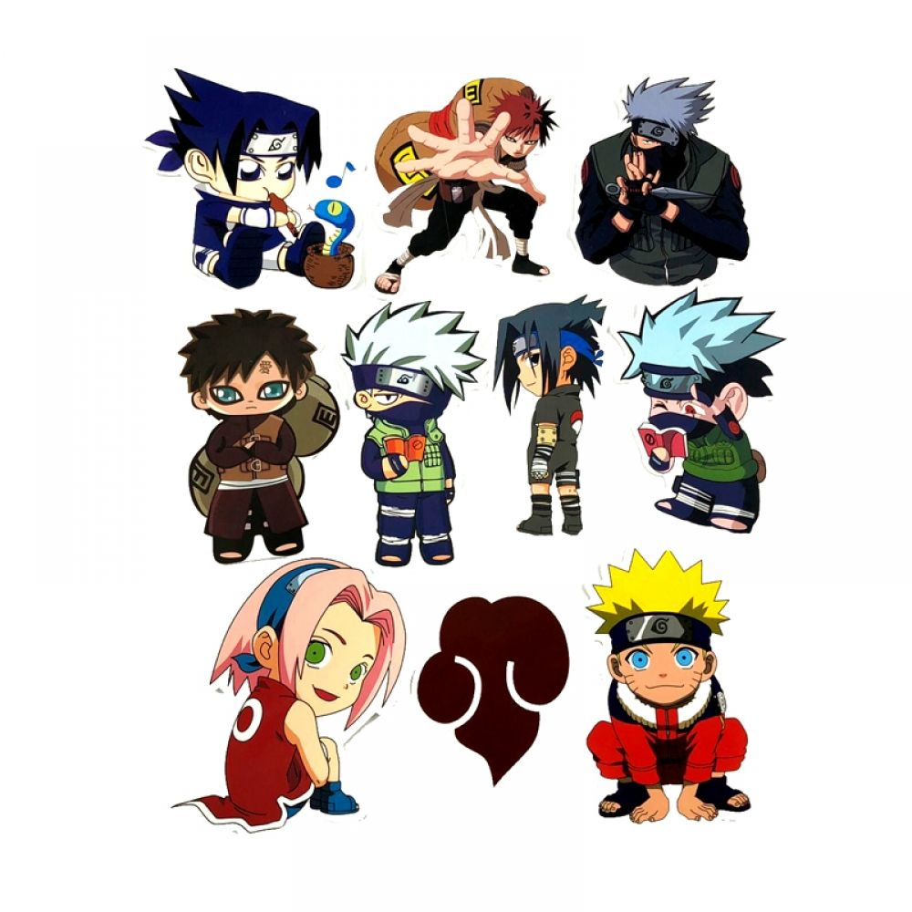 10 x naruto decal stickers price 9 99 free shipping animeclothes