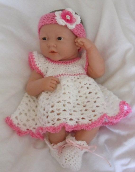 Crochet pattern for Berenguer 14 inch la newborn baby doll | dolls ...