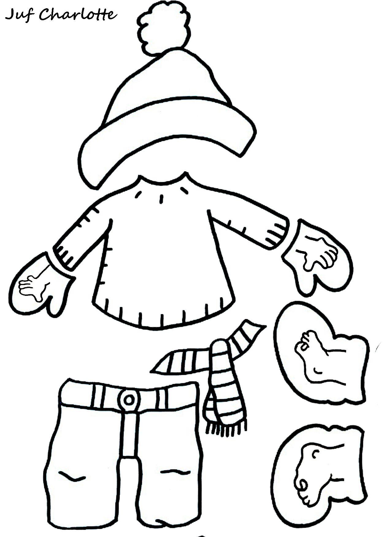 Thema Winter Aankleedspel Deel 3 Winterknutsels Thema Winterpret