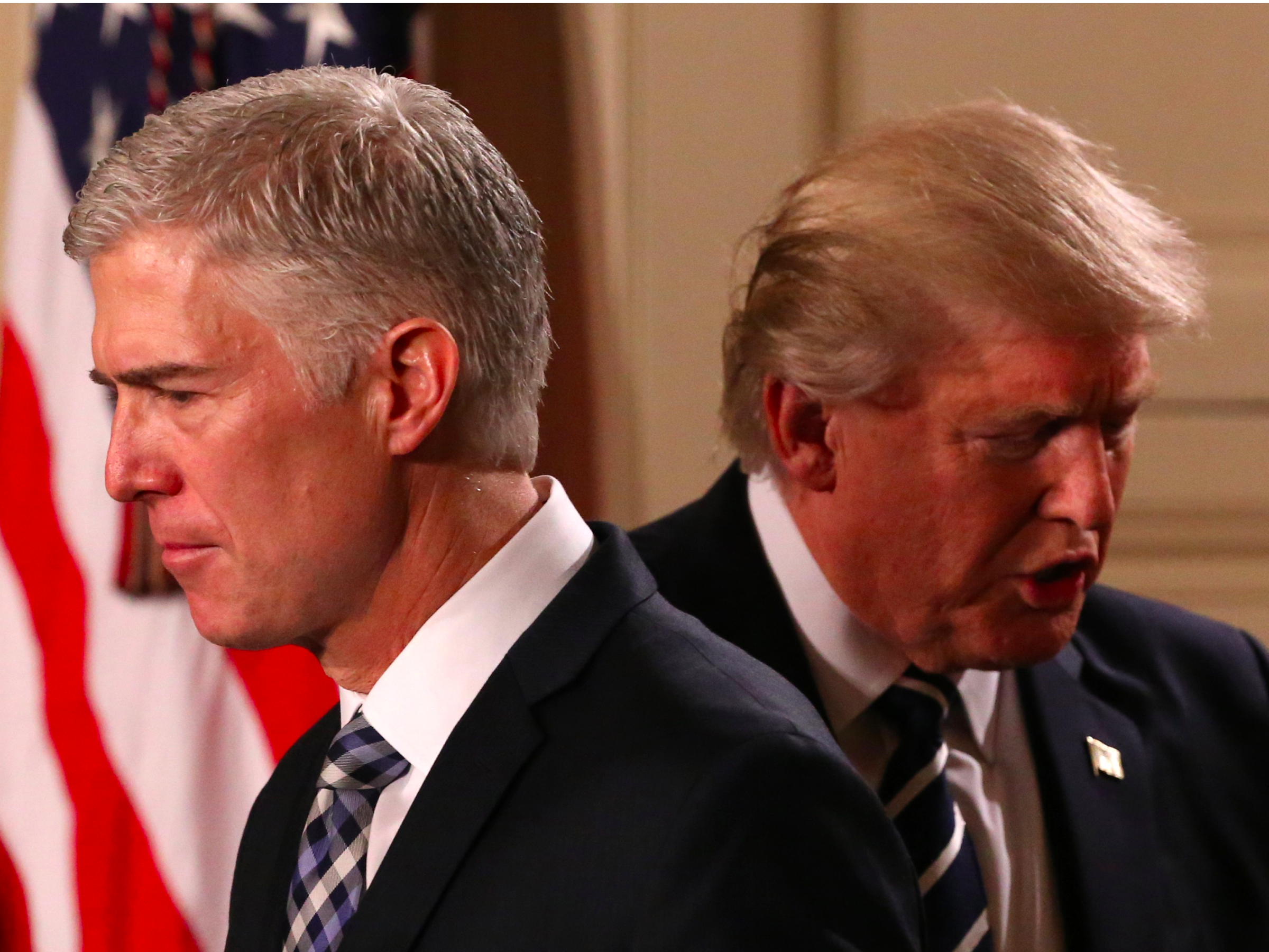 Trump's Supreme Court pick once accused lawmakers of