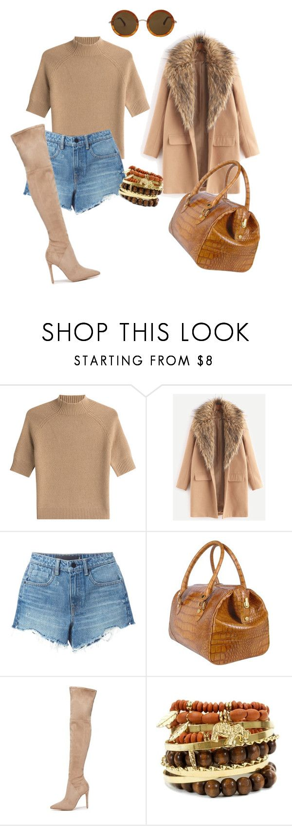"""""""Başlıksız #424"""" by ayse-zilee ❤ liked on Polyvore featuring Theory, Alexander Wang, L.A.P.A., Kendall + Kylie and The Row"""