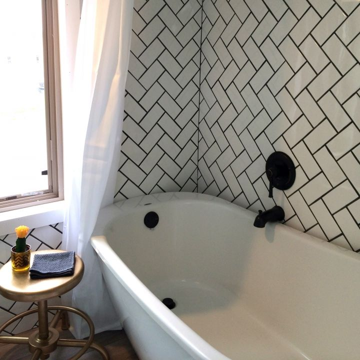 Lovely No House Is Ever Too Small For A Full Size Bathtub. HELLO RELAXATION! #