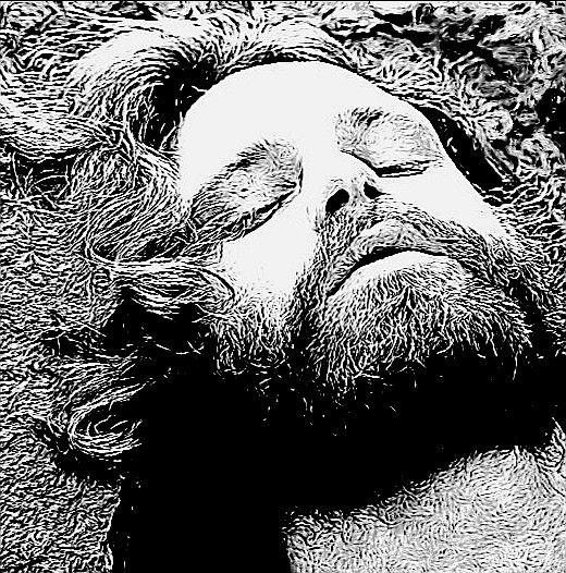 Jim Morrison Art grafite en 2019 Artistas