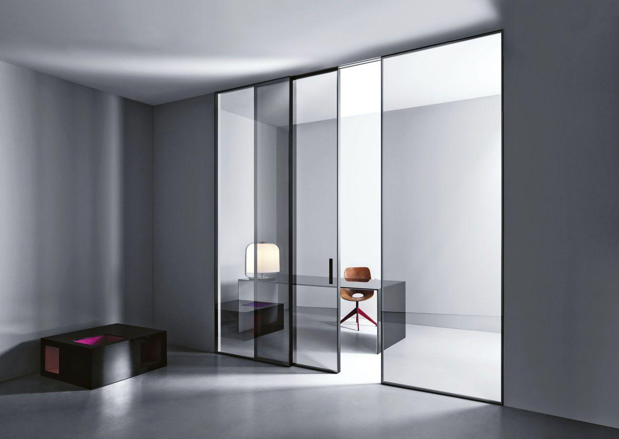 doppel glasschiebet r swing by cortesi design lualdiporte new house pinterest. Black Bedroom Furniture Sets. Home Design Ideas
