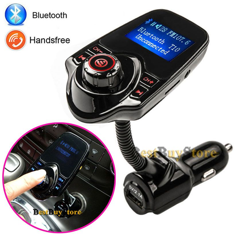 2016 super bluetooth car kit handsfree set fm transmitter. Black Bedroom Furniture Sets. Home Design Ideas