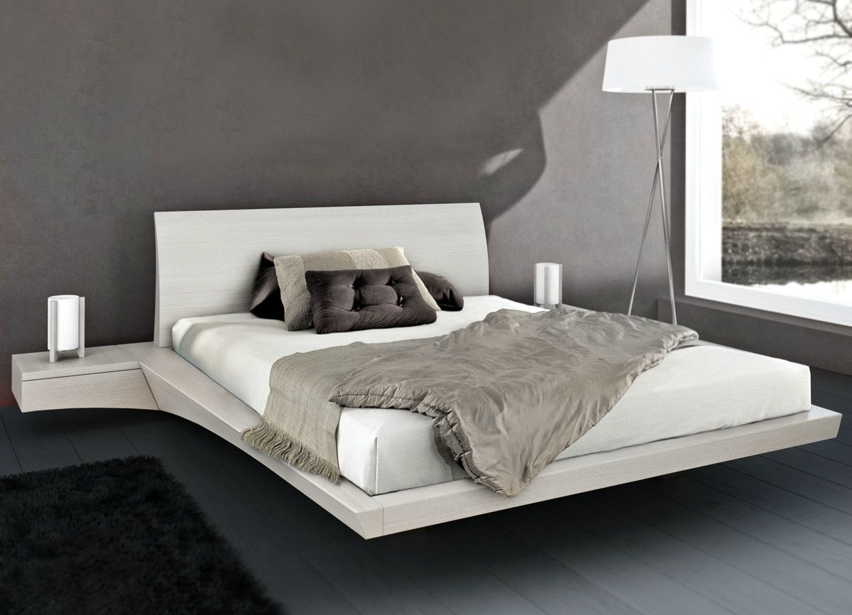 Mazzali Newport Floating Bed With Images Unusual Beds Fancy