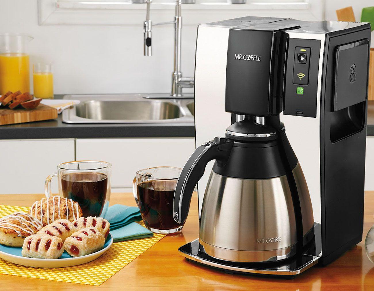 Mr. Coffee® Smart Optimal Brew™ Coffeemaker with WeMo
