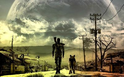 Fallout 3 Wallpaper Survival Leben