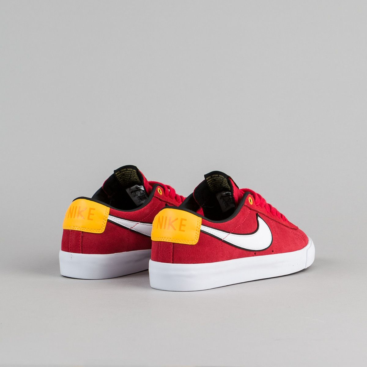 nike sb blazer low red
