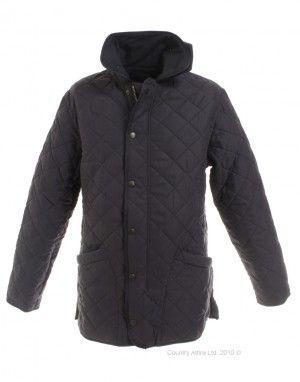 barbour microfibre polarquilt jacket