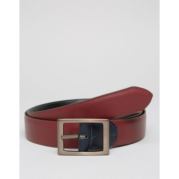 Ted Baker Belt Reversible Formal (4,305 INR) ❤ liked on Polyvore featuring men's fashion, men's accessories, men's belts, black, men's reversible belt, mens formal wear accessories and men's formal accessories