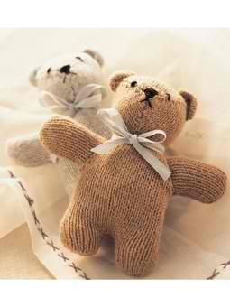 Cashmere Teddy Bear: #knit #knitting #free #pattern #freepattern #freeknittingpattern #knittingpattern
