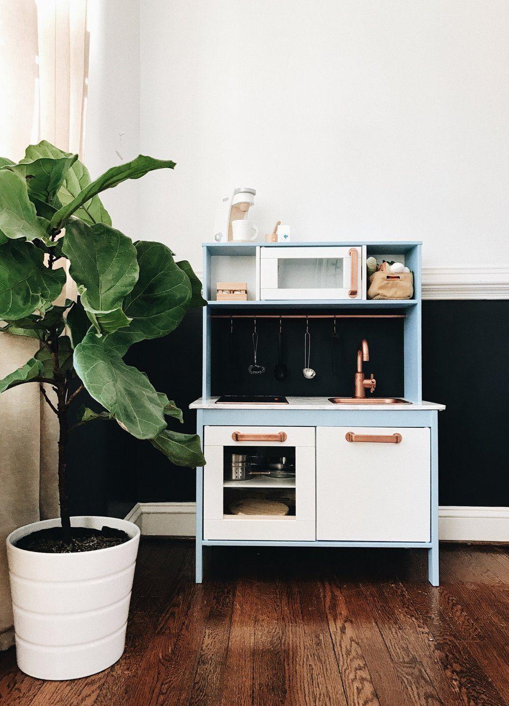 DIY IKEA PLAY KITCHEN HACK — Amanda Krovic Design Ikea