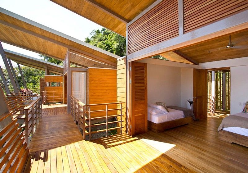 The Jungle In Costa Rica Floating House Http Freshome Dream Holiday Retreat Overlooking