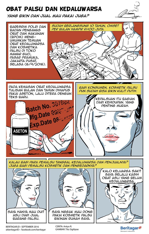 Dua Persen Menurut Kepala Badan Pom Penny L Lukito Dua Persen Obat Yang Beredar Itu Palsu Kartun Asli Penyakit