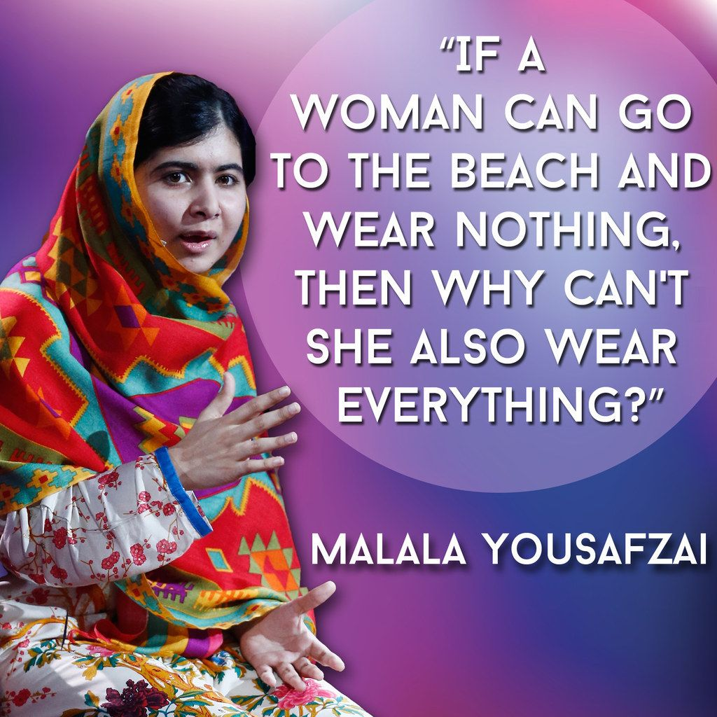 Malala Yousafzai Quotes 21 Inspiring Quotes Every Woman Needs In Her Life  Pinterest .