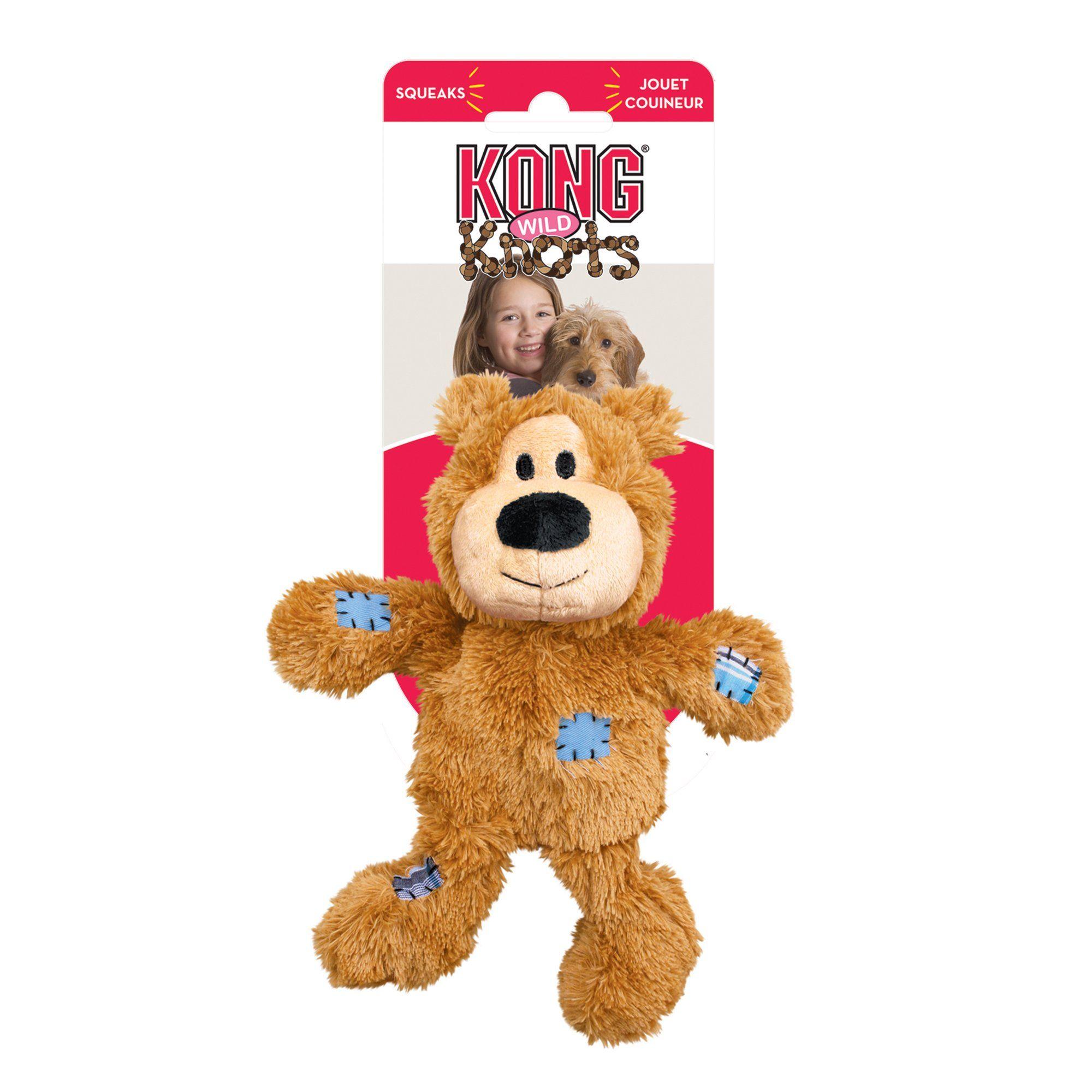 Kong Wild Knots Bear Dog Tug Toy Medium Assorted In 2019 Small