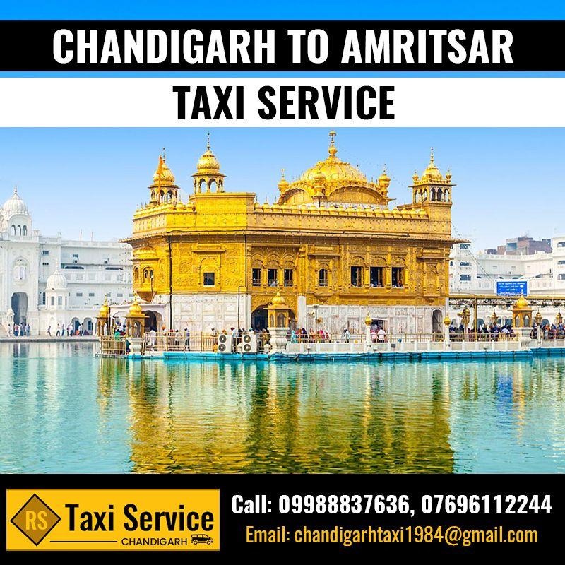 CHANDIGARH TO AMRITSAR TAXI SERVICE. BOOK NOW! TAXI Visit
