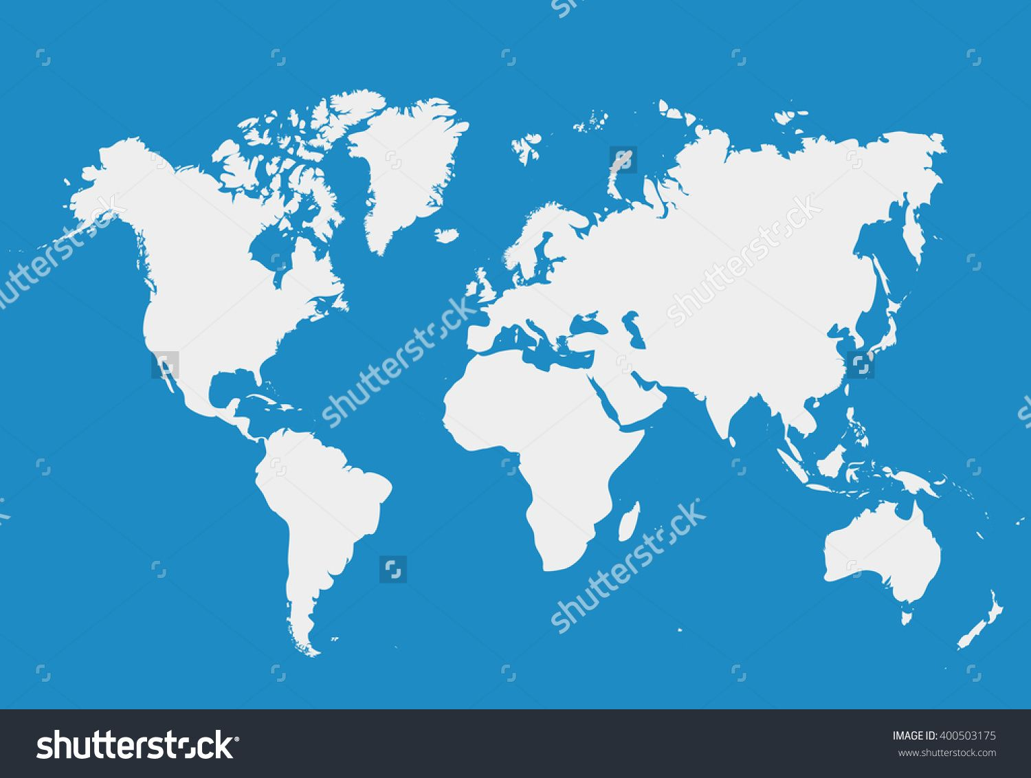 Blank white simillar world map isolated on blue background worldmap blank white simillar world map isolated on blue background worldmap vector template for website gumiabroncs Images