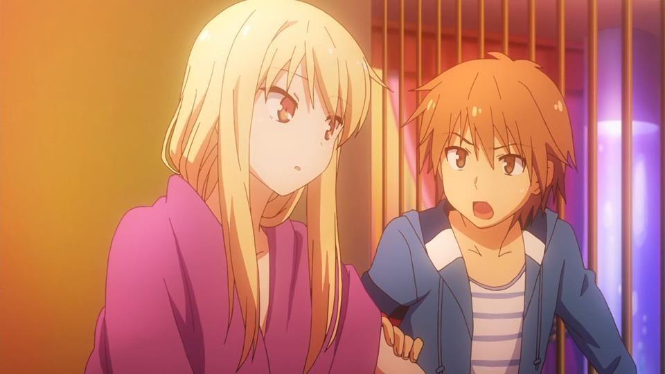 This Is From The Anime Sakurasou No Pet Na Kanojo The Couple In The Picture Is Sorata Kanda And Mashiro Shiina Anime Shows Anime Mashiro Shiina