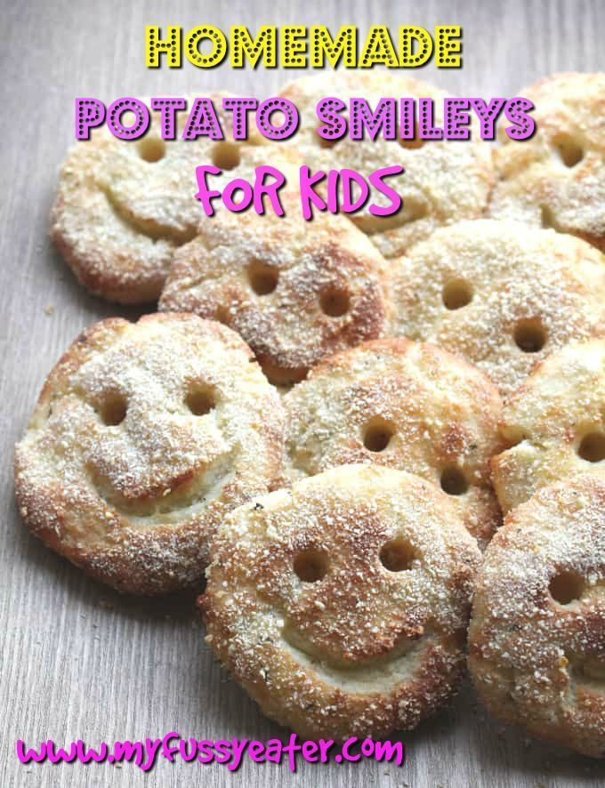 My fussy eater loves the packaged variety of potato smileys but I try to limit them to a treat dinner every so often. I thought homemade potato smiles might be a bit tricky to make but they were surprisingly easy once I had a batch of the right leftover ingredients! Much healthier than shop bought and baked in the oven these need not only be a treat dinner for kids! #potatosmileys #fussyeaterkids #kidsfood #bakednotfried #smileysrecipe #babyfingerfood