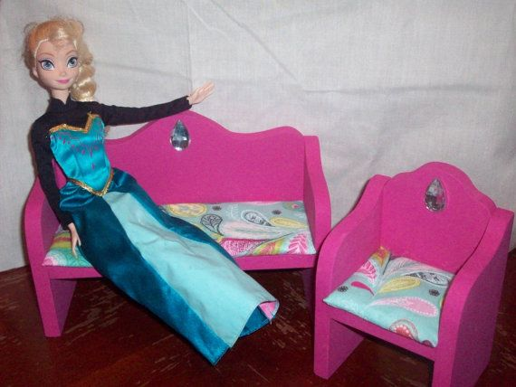 Customize: Wooden Doll Furniture Living Room Chair and Couch Novelty ...