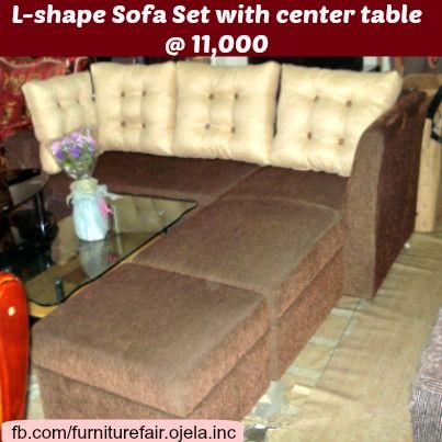 L Shape Sofa Set With Center Table With Images L Shaped Sofa L Shape Sofa Set