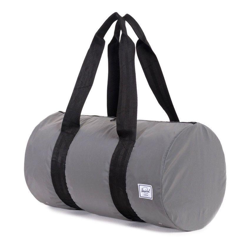 Herschel Supply Co.  Packable Duffel Bag Reflective - Silver ... e78c359805f9f