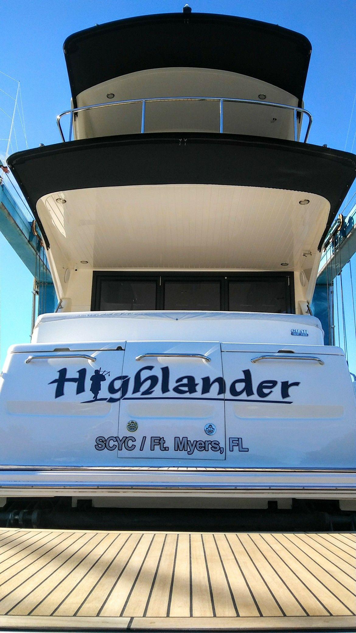 Highlander boat name by the boat name guy boat name decals boat names broadway