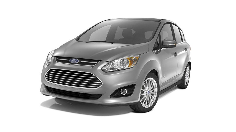 2013 Ford C-Max EPA rated at 47 mpg. Team of women journalists ...
