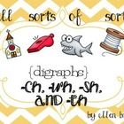 Digraph sorts and worksheets!