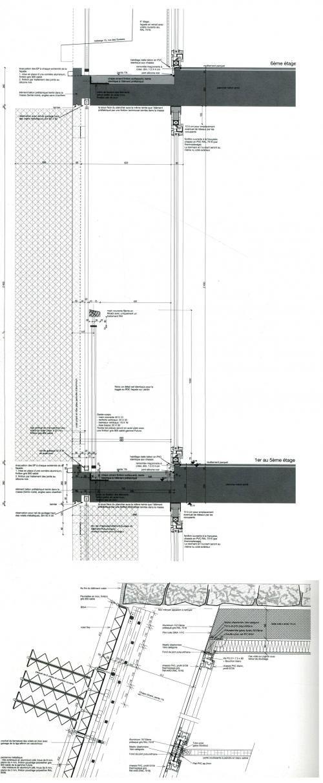 Drilled folding-sliding metal panels in Paris by H&dM [576] | filt3rs