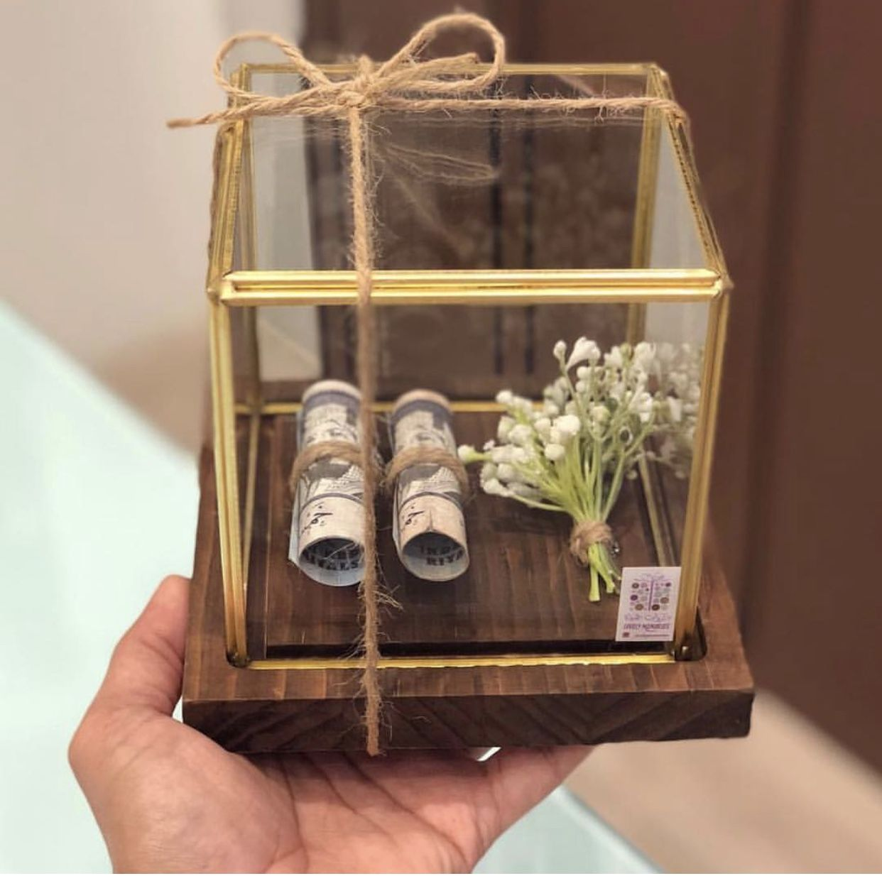 Pin By Kekeoe Rrr On افكار تغليف Handmade Wedding Gifts Flower Box Gift Diy Gift Wrapping