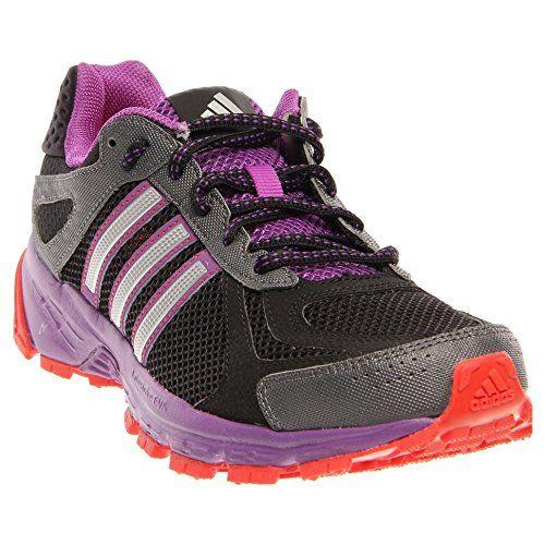 Adidas Women's Duramo 5 Trail Running Shoes-Black/Purple-6 ...