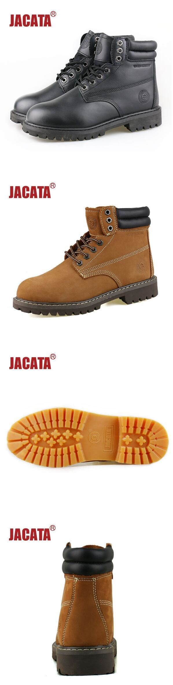 4d0c508abcf Boots 11498: Jacata Men S Winter Snow Work Boots Shoes 6 Premium ...