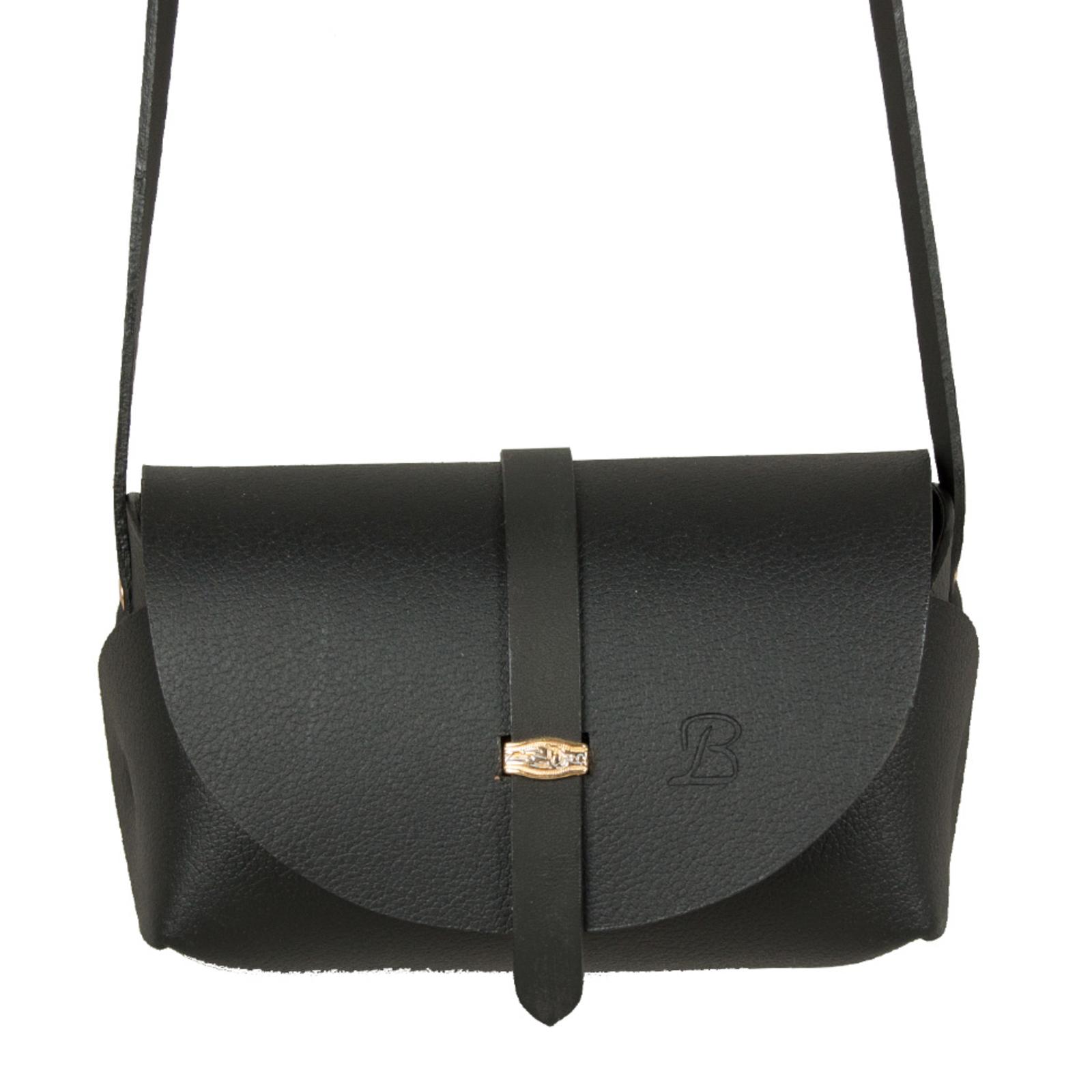 1a0f7b856 Bolsa Feminina La Bijorca Couro Transversal Pequena Preta | Products ...