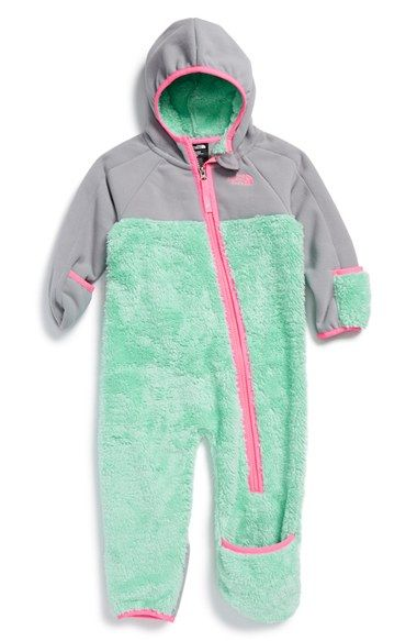 96dd02480 The North Face 'Chimborazo' One-Piece (Baby Girls) available at #Nordstrom