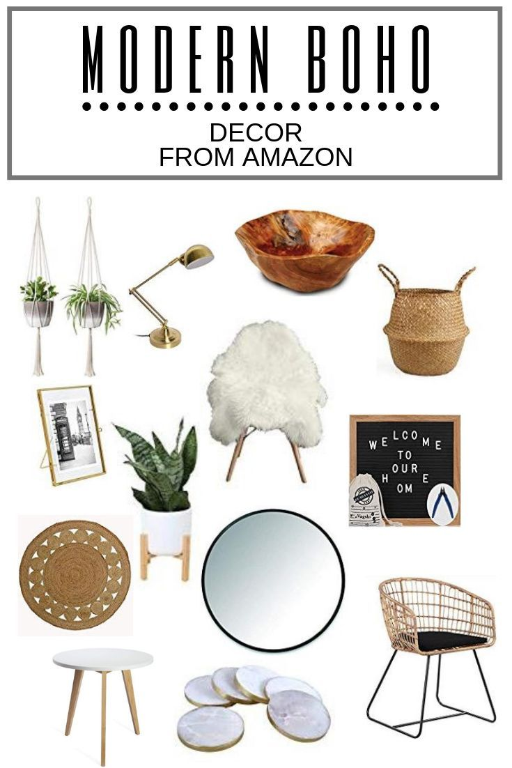 Photo of Modern Boho Decor From Amazon in 2020 | Modern boho decor, Amazon home decor, Boho decor