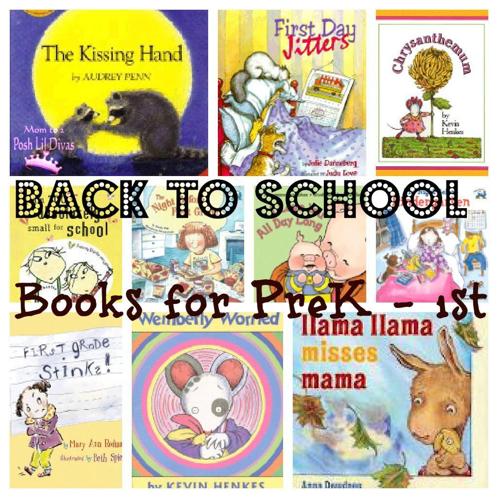 Favorite Back To School Books For Preschool Kindergarten