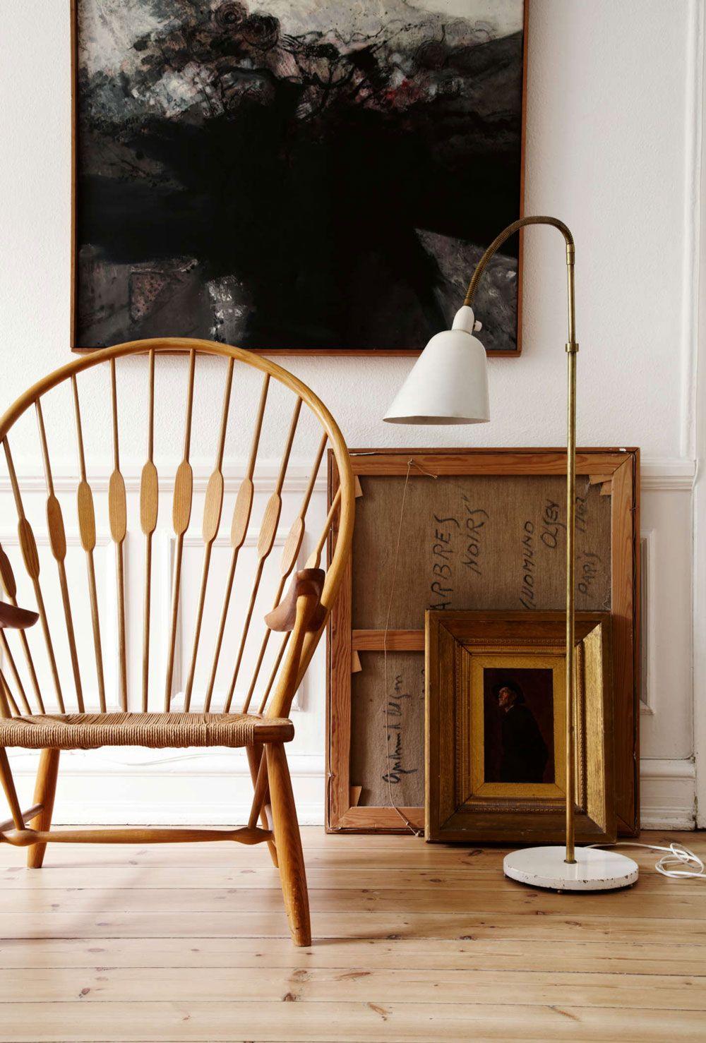 The Beautiful Copenhagen Home Of A Vintage Scandinavian Design Collector Nordic Design Scandinavian Furniture Contemporary Home Decor Living Room Scandinavian