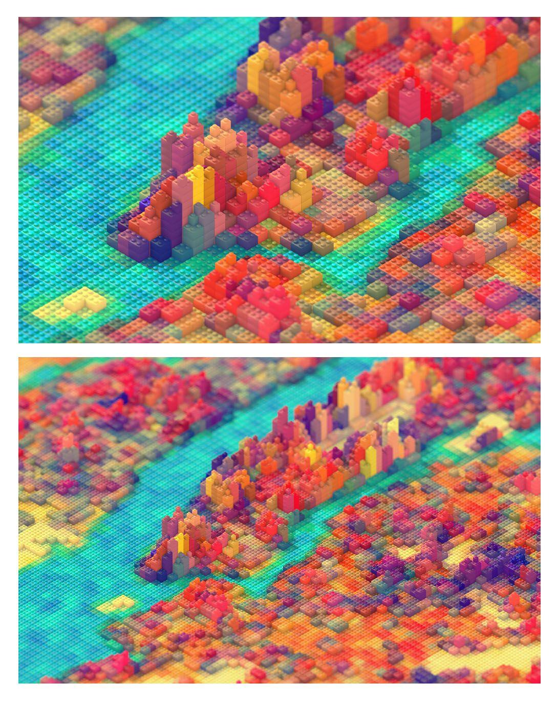 """I Lego NY"" – JR Schmidt - 3D Artist & Motion Designer"