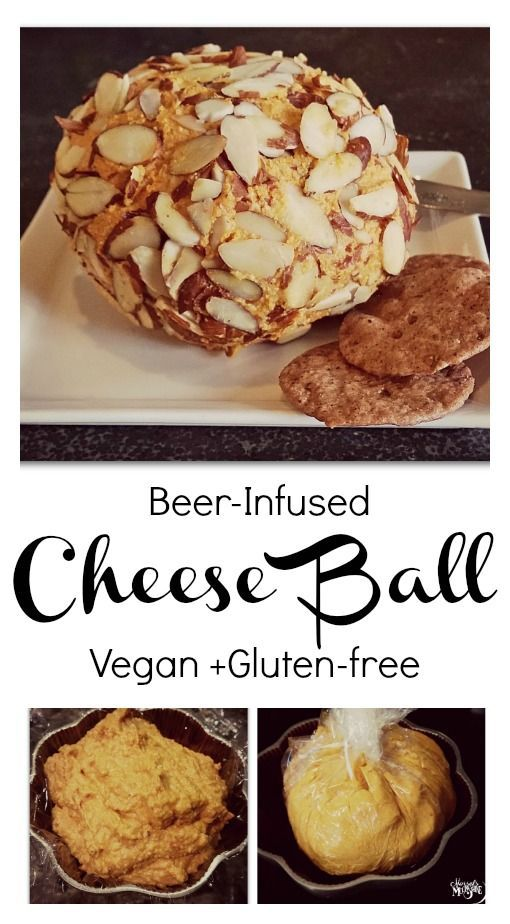 Beer Infused Cheese Ball Morsels Moonshine Cheese Ball Food Vegan Beer