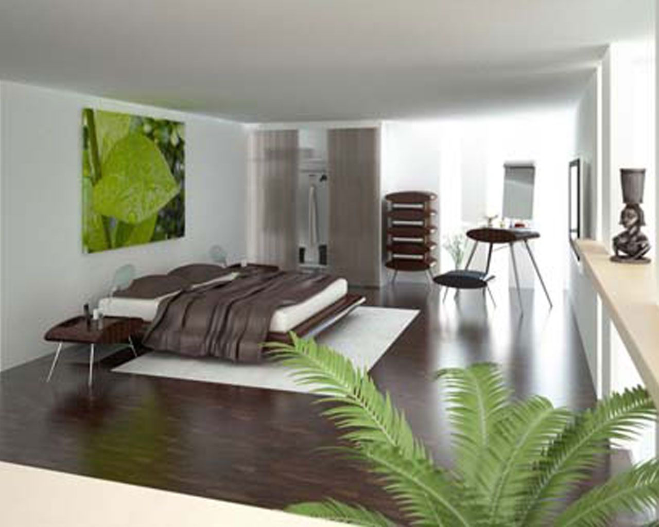 Trendy Bedroom Designs Green Bedroom Ideas  Greeninmodernbedroomdesignwallpaper