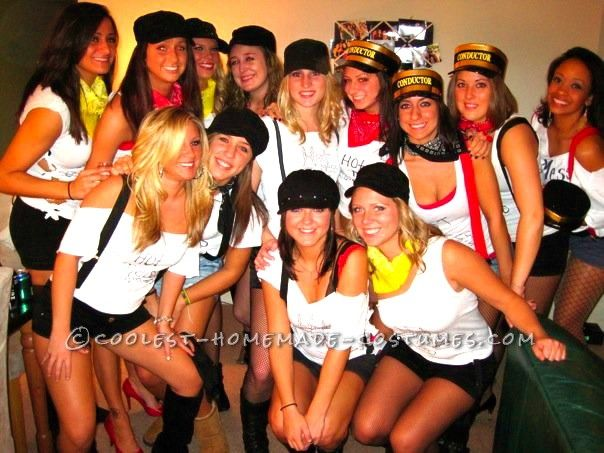 Original Girls Group Halloween Costume Idea: Hot Mess Express... This website is the Pinterest of costumes